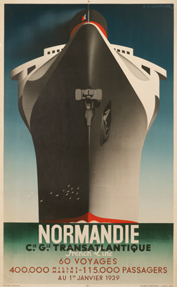 A poster by A. M. Cassandre
